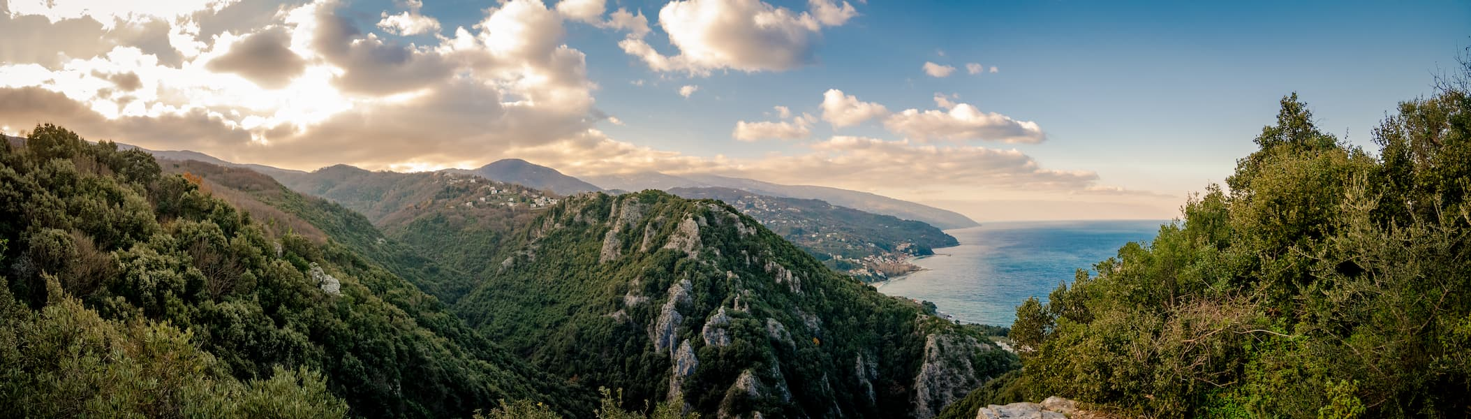 view of pelion-greece
