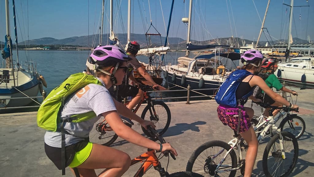Volos-city-cultural-tour with bicycles